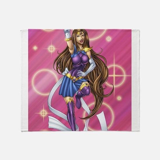 Sailor Pin-up Throw Blanket