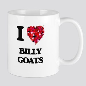 I Love Billy Goats Mugs