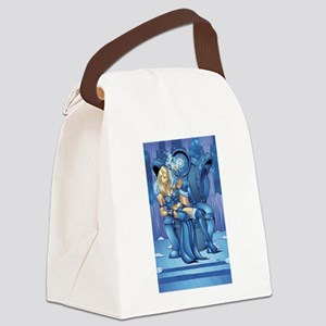 Snow Queen Canvas Lunch Bag