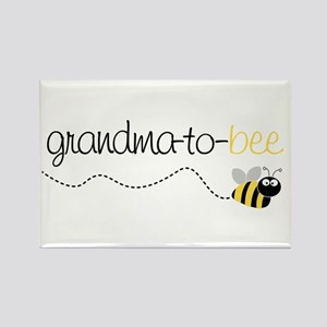 grandma to bee Rectangle Magnet