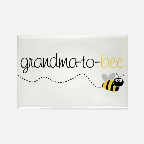 grandma to bee Rectangle Magnet