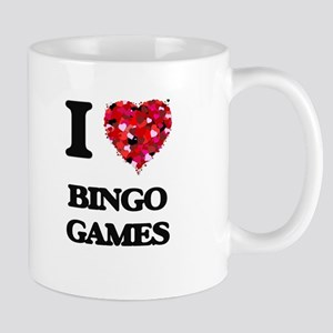 I Love Bingo Games Mugs
