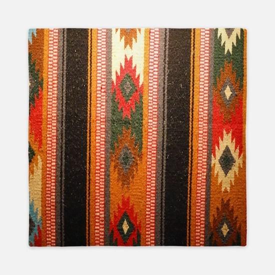 Indian blanket Queen Duvet