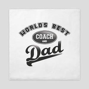 Best Coach/Dad Queen Duvet