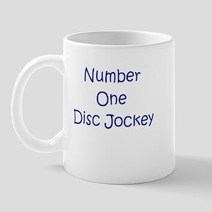 Number One Disk Jockey Mug