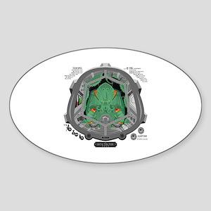 Pilot CTHULHU Sticker (Oval)