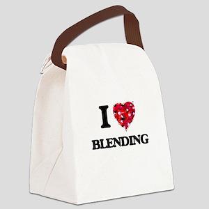 I Love Blending Canvas Lunch Bag