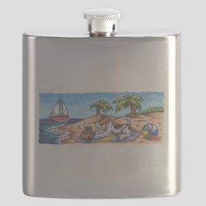 Wire Fox Endless Summer Flask