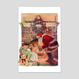A Visit from Saint Nick Mini Poster Print