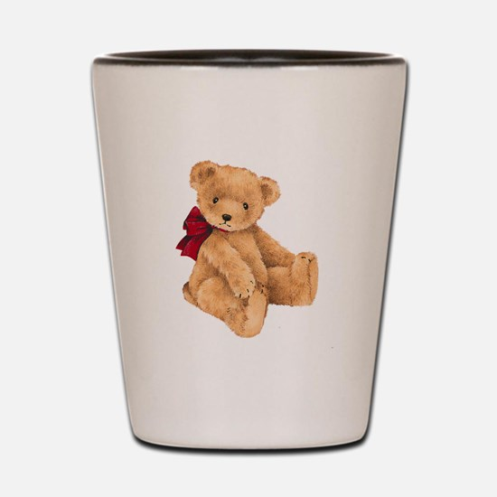 Teddy - My First Love Shot Glass