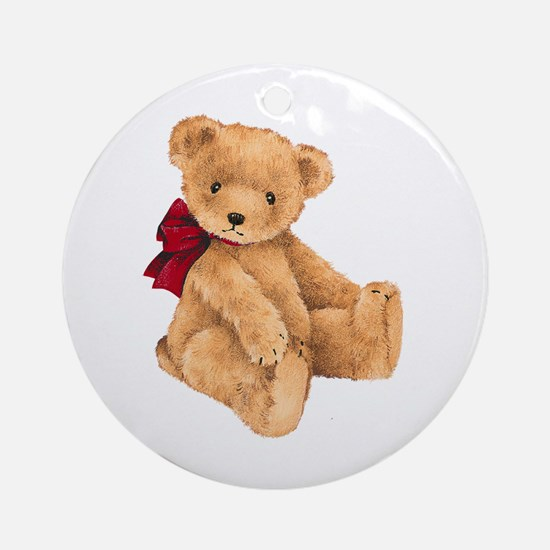 Teddy - My First Love Ornament (Round)