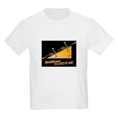 Snakes/Inclined Plane Kids Light T-Shirt