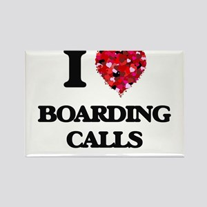 I Love Boarding Calls Magnets