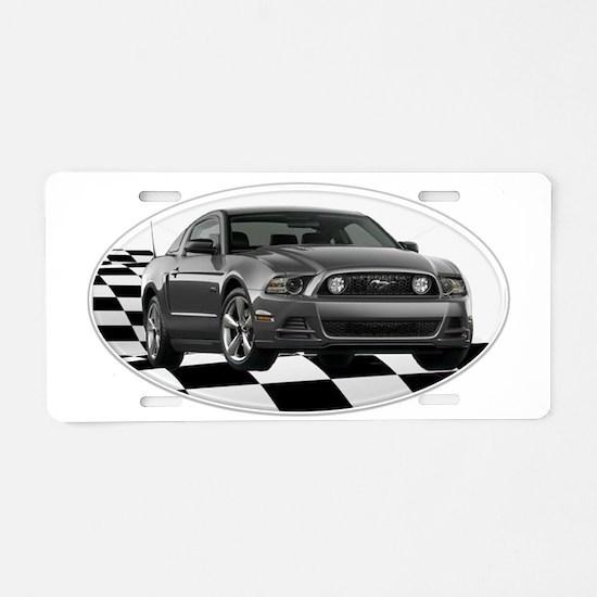 SGMustangGT Aluminum License Plate