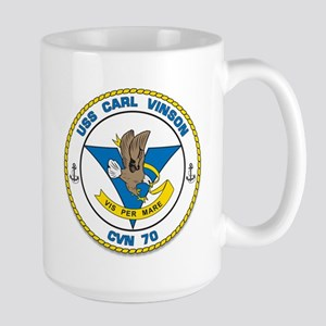 Uss Carl Vinson Cvn-70 Oif Mugs