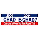 Bumper Sticker E-CHAD?