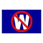 Rectangle Sticker NO W
