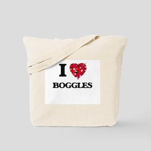 I Love Boggles Tote Bag