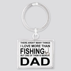 DAD - THERE AREN'T MANY THINGS  Landscape Keychain