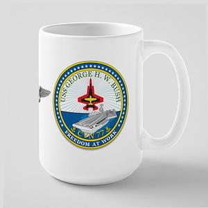 Uss George Hw Bush Cvn-77 Oif Air Warfare Mugs