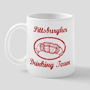 Pittsburgher Drinking Team Mug