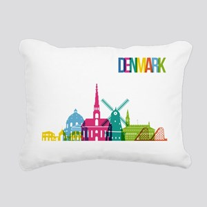 Denmark Rectangular Canvas Pillow