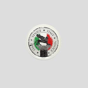 Venice Italy Stamp Mini Button