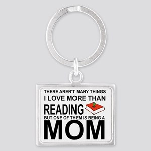 MOM - THERE'S NOT MANY THINGS I Landscape Keychain