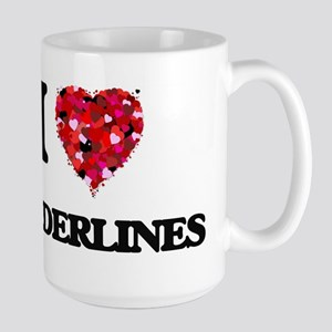 I Love Borderlines Mugs