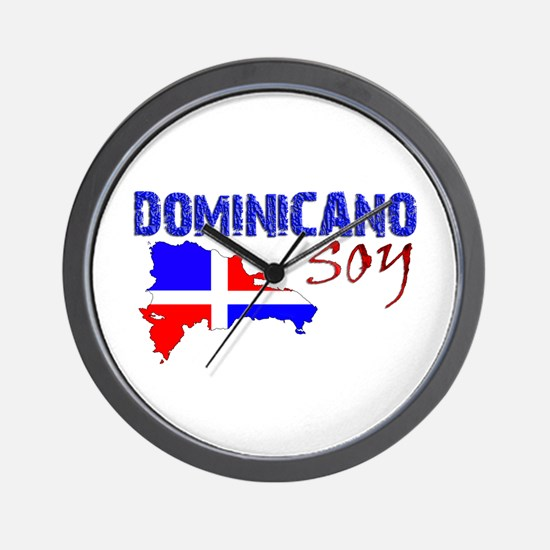 Funny Dominican republic Wall Clock