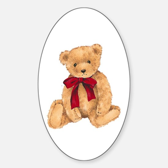 Teddy - My First Love Sticker (Oval)