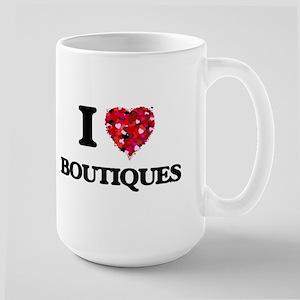 I Love Boutiques Mugs