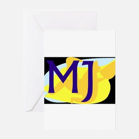 MJ (DARK) Greeting Cards