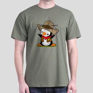 Cowboy Popo Penguin Dark T-Shirt