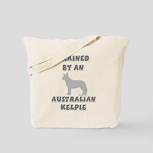 Kelpie Slvr Tote Bag