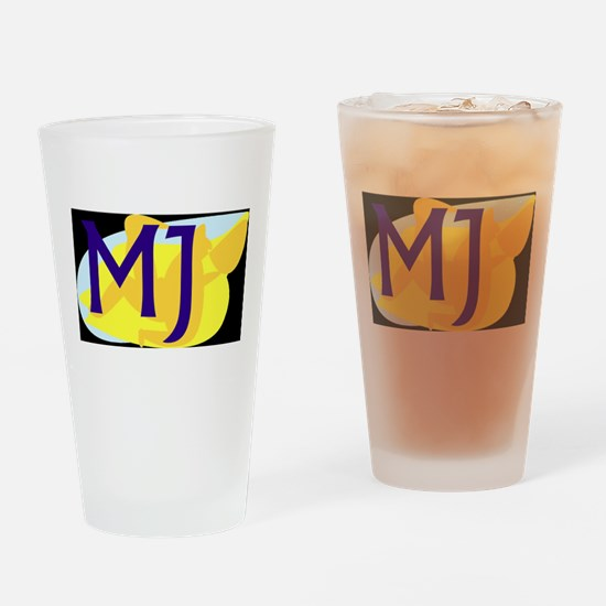 MJ (DARK) Drinking Glass
