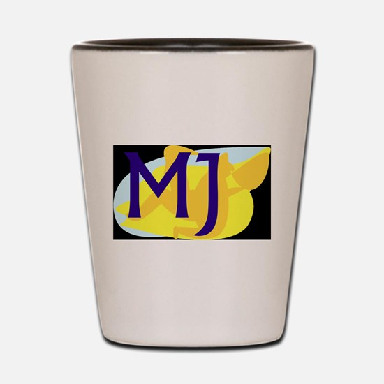 MJ (DARK) Shot Glass