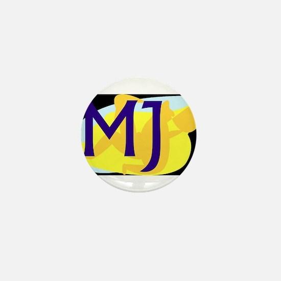 MJ (DARK) Mini Button