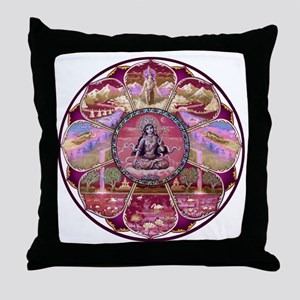 Tara Heaven Mandala Throw Pillow