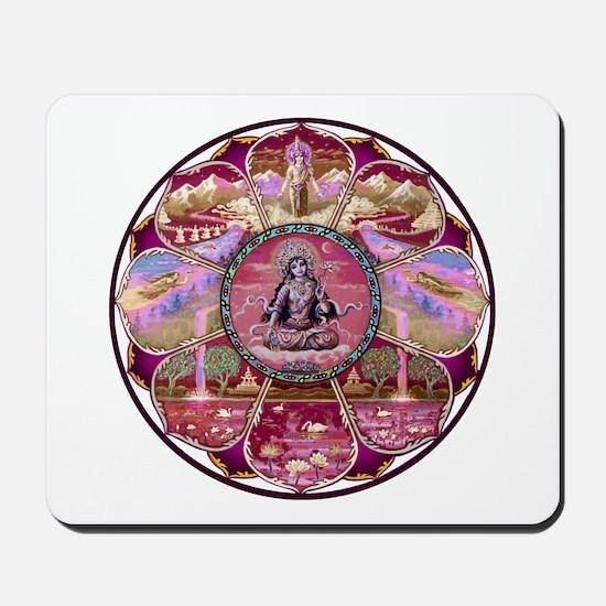 Tara Heaven Mandala Mousepad