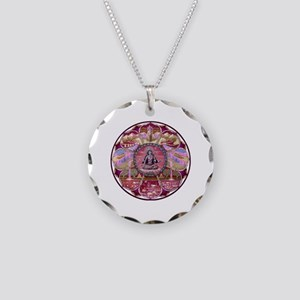 Tara Heaven Mandala Necklace Circle Charm