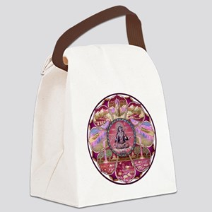 Tara Heaven Mandala Canvas Lunch Bag
