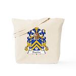 Bastide Family Crest Tote Bag