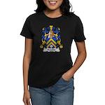 Bastide Family Crest Women's Dark T-Shirt