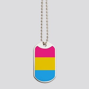 Pansexual Pride Flag Dog Tags