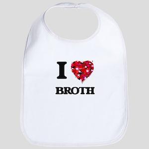 I Love Broth Bib