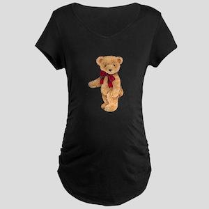 Teddy - My First Love Maternity Dark T-Shirt