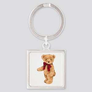 Teddy - My First Love Square Keychain