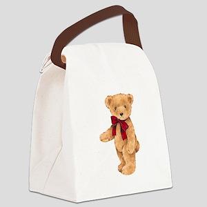 Teddy - My First Love Canvas Lunch Bag