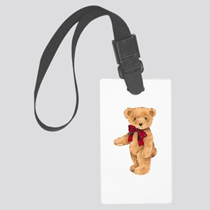 Teddy - My First Love Large Luggage Tag